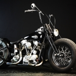 With an old style H-D… Yes, we believe it…