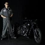 In the case of exhaust master Masato Tsunogai