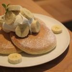 At a Pancake Ristorante in Yokohama