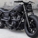 """Harley Davidson 2009 Fat Bob """"Dyna Guerrilla"""" by Rough Craft"""