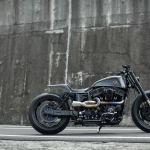 Harley Dyna Custom : The Urban Cavalry Built by Rough Crafts Part-1