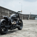 Harley Dyna Custom : The Urban Cavalry Built by Rough Crafts Part-2