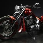 Harley Davidson 2007 Fatboy 300 Wide Tire Custom