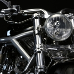 Headlight Bracket for V-ROD in One-Off
