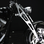 Harley Davidson 330 Wide Tire Custom with Girder Fork