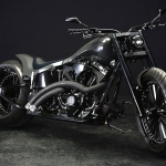 HARLEY TwinCam FXSTB 300 Wide Tire Custom